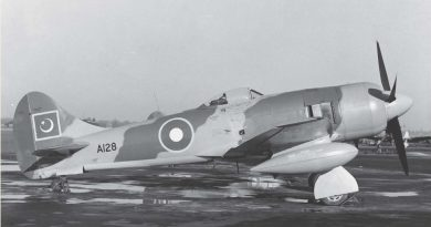Remembering PAF's First Fighter Tempest-II